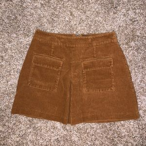 Urban Outfitters BDG Sued Mini Skirt
